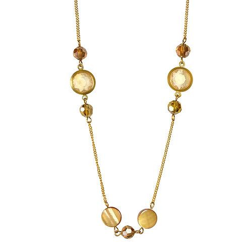Gold Embellished Necklace