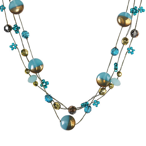 Crystal Layering Necklace