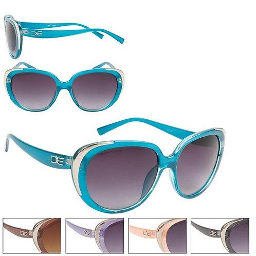 Lavender & Silver Cat Eye Designer Sunglasses