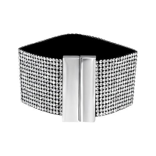 Black & Silver Sparkling Bracelet
