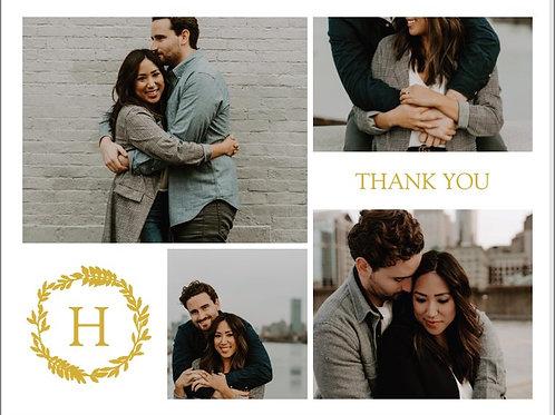 "Thank You Card 5.5""x4"" - #4777557"