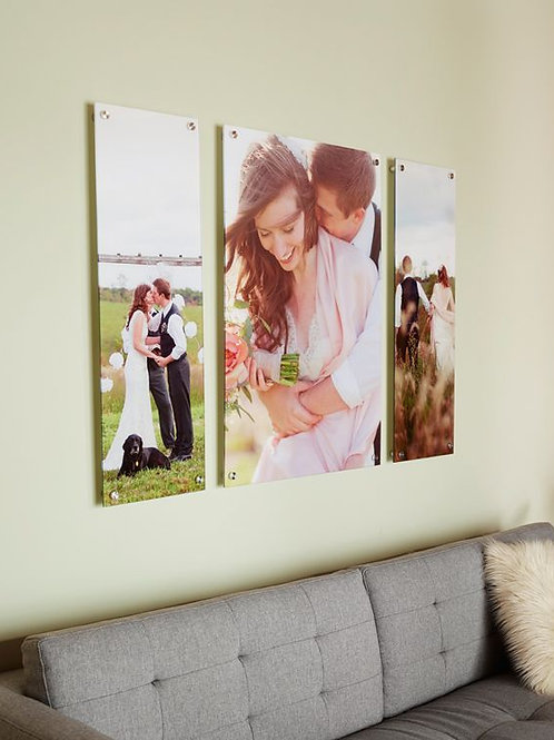 Acrylic Mount w/Metal photo paper