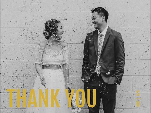 "Thank You Card 5.5""x4"" - #5471857"