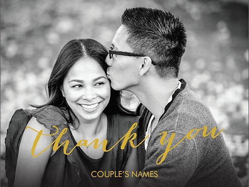 "Thank You Card 5.5""x4"" - #4775850"