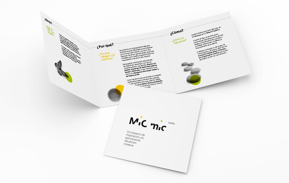 Mic mic studio - Branding - Miriam Arroyo