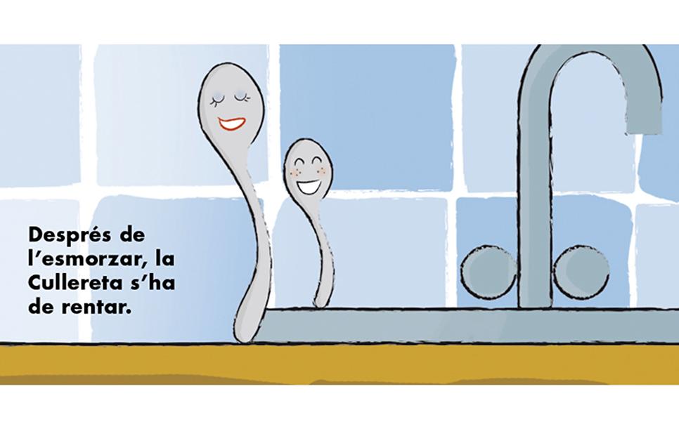 La Cullereta - Ilustración infantil - Miriam Arroyo