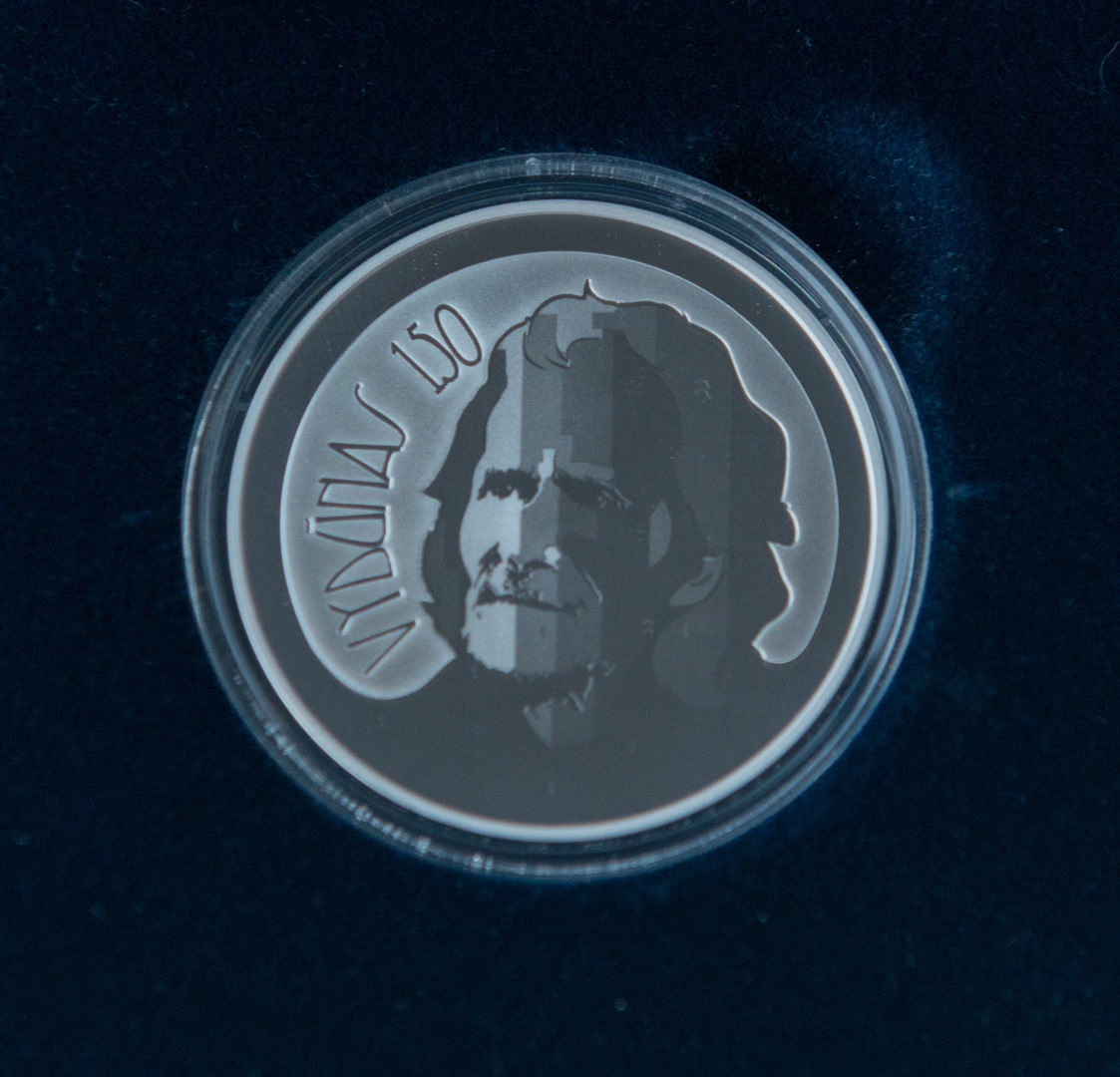 """""""Sidabrinės, proginės20Eur. monetos reversas"""""""