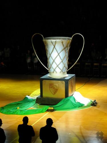 Žalgirio Eurolygos taurės butaforija