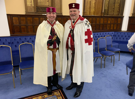 Provincial Visit to St. Cuthbert's Preceptory No. 139