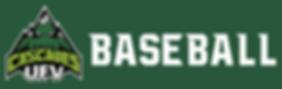 UFV Baseball wordmark.png
