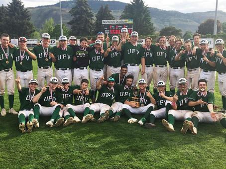 CHAMPIONS: Cascades baseball club clinches CCBC title