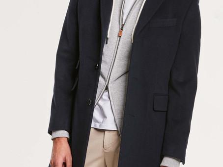 MORRIS | Wesley Wool Cashmere Coat Navy | SEK 4,299 👉