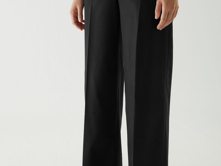WOOL-CASHMERE TAILORED TROUSERS | SEK 1150  👉