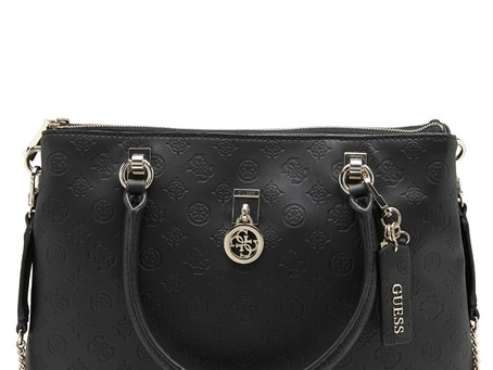 GUESS | Ninnette Society Carry All BlacK | € 155,00 👉
