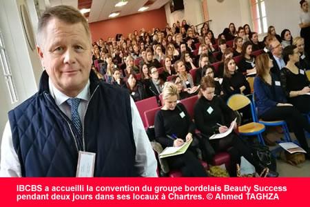 Beauty Success en convention au campus de l'IBCBS