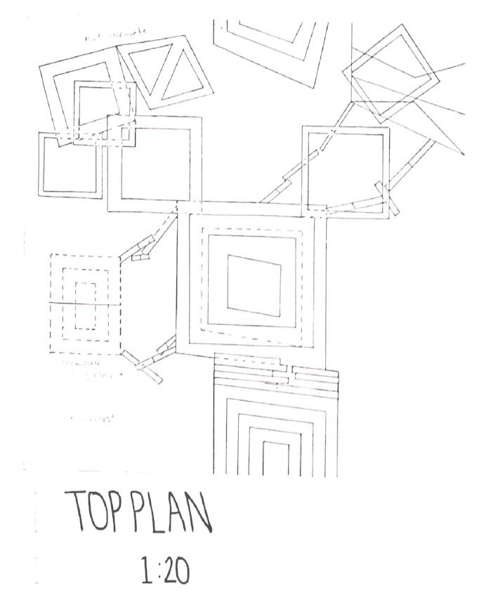 Radial Organization Top Plan