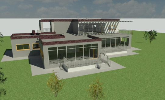 Back Exterior Rendering
