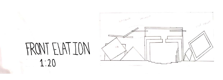 Radial Organization Elevation