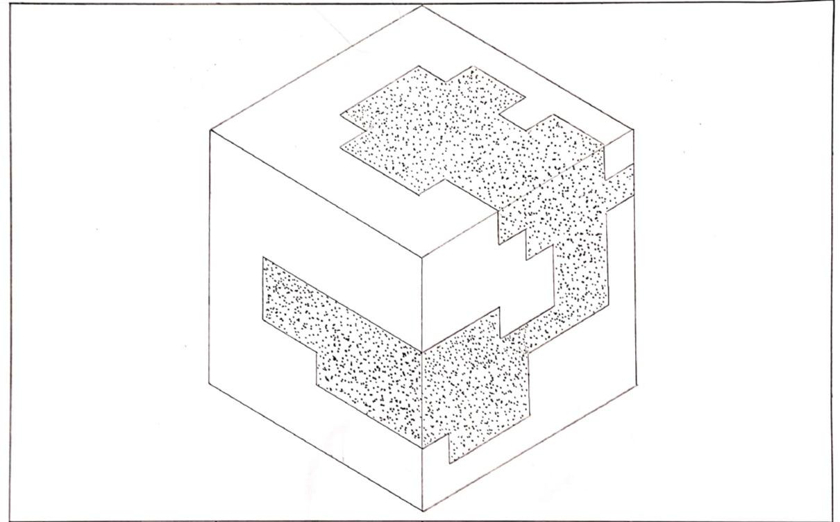 Cube Positive Space