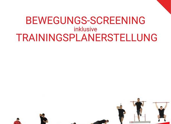 BEWEGUNGS-SCREENING inklusive Trainingsplan
