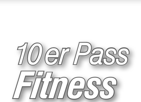 20er Pass -Fitness