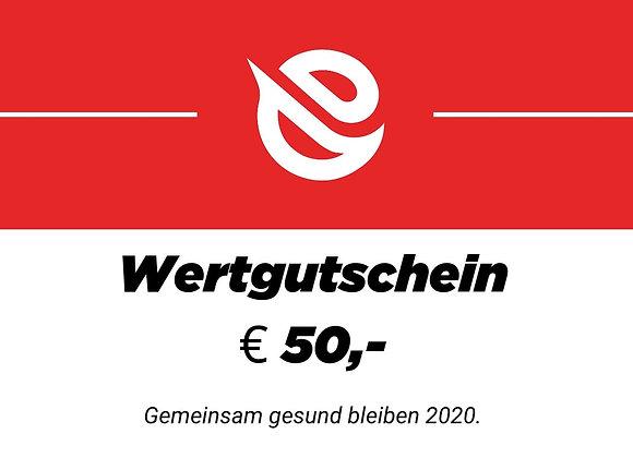 Wertgutschein €50