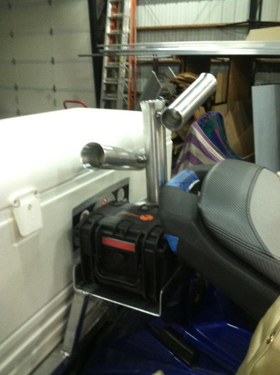Auxiliary Battery for Jetski Fishing