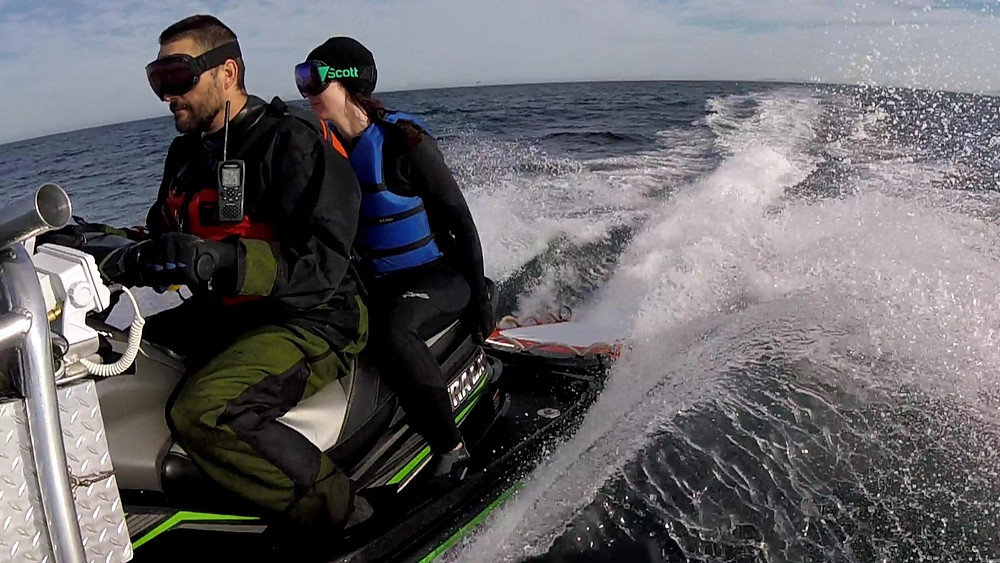 USIA drysuit & NRS Wetsuit in action