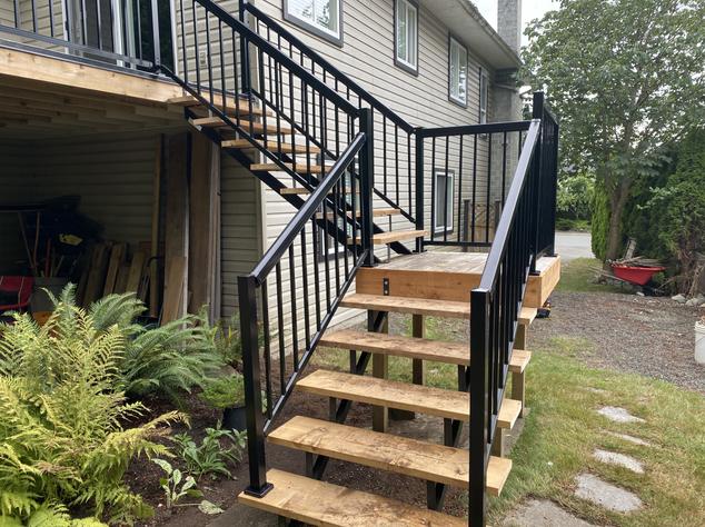 Aluminum railing (2)