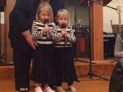 Keelie and Leah