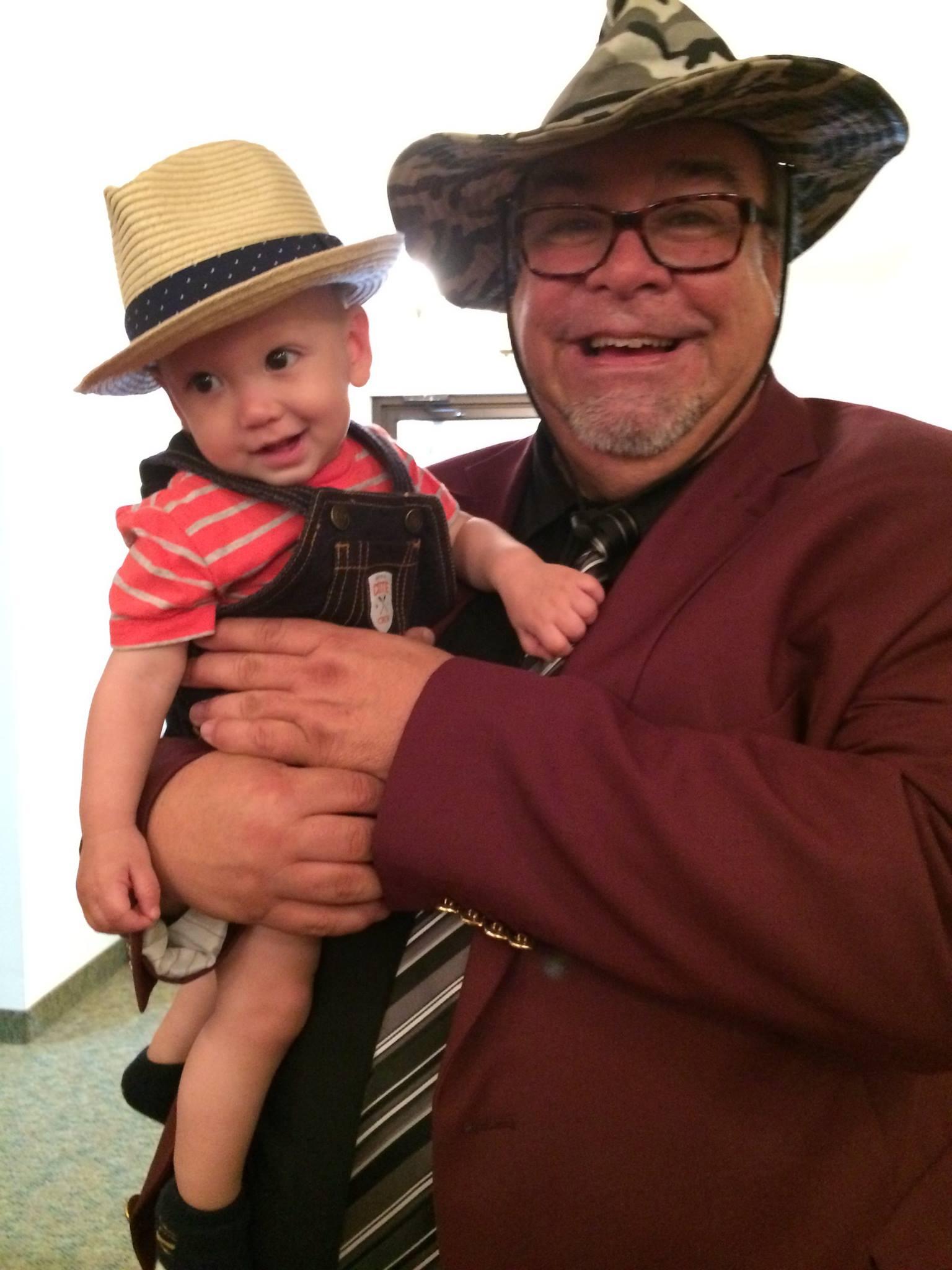 Pastor Gerald and Noah
