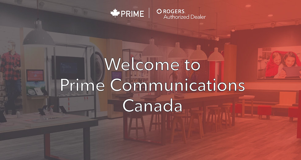 Welcome to Prime Communications Canada