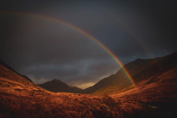 Double Rainbow in the Glen
