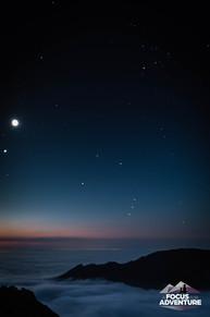 Orion the Hunter above Cioch na h-Oighe