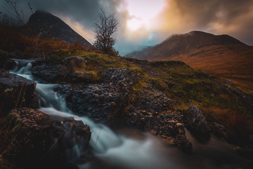 Autumn in Glen Sannox