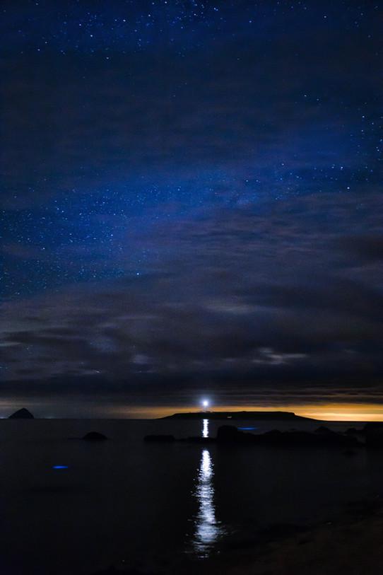 Blue Sea Sparkle and Pladda