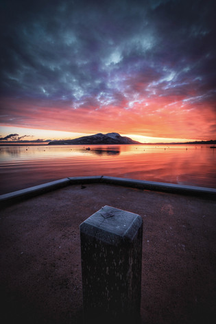 Frozen glow, Lamlash pier.jpg