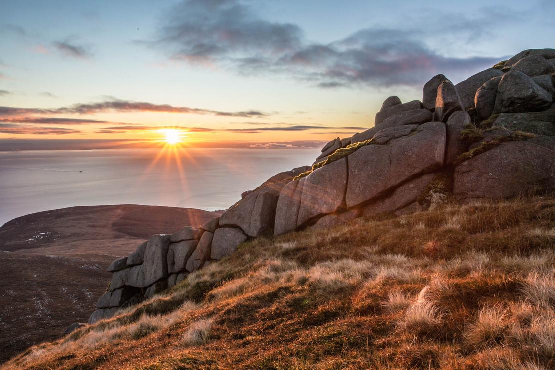 November Sunrise, Goatfell.jpg