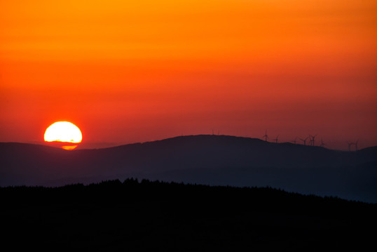 Sunset from An Tunna