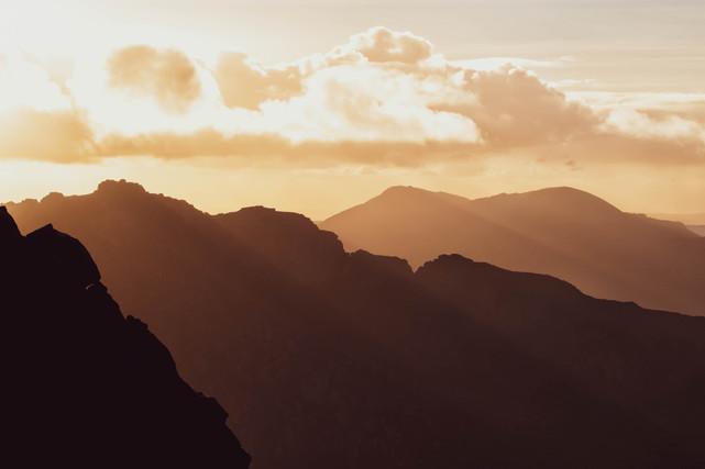 Mountain layers, North Goatfell