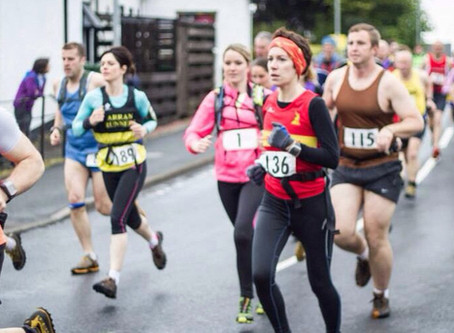 Goatfell hill race 2014
