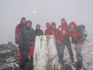 Mullach Buidhe summit - Jan 2014