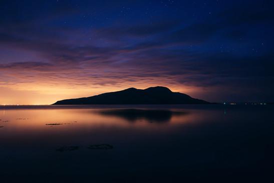 Holy Isle under the stars.jpg