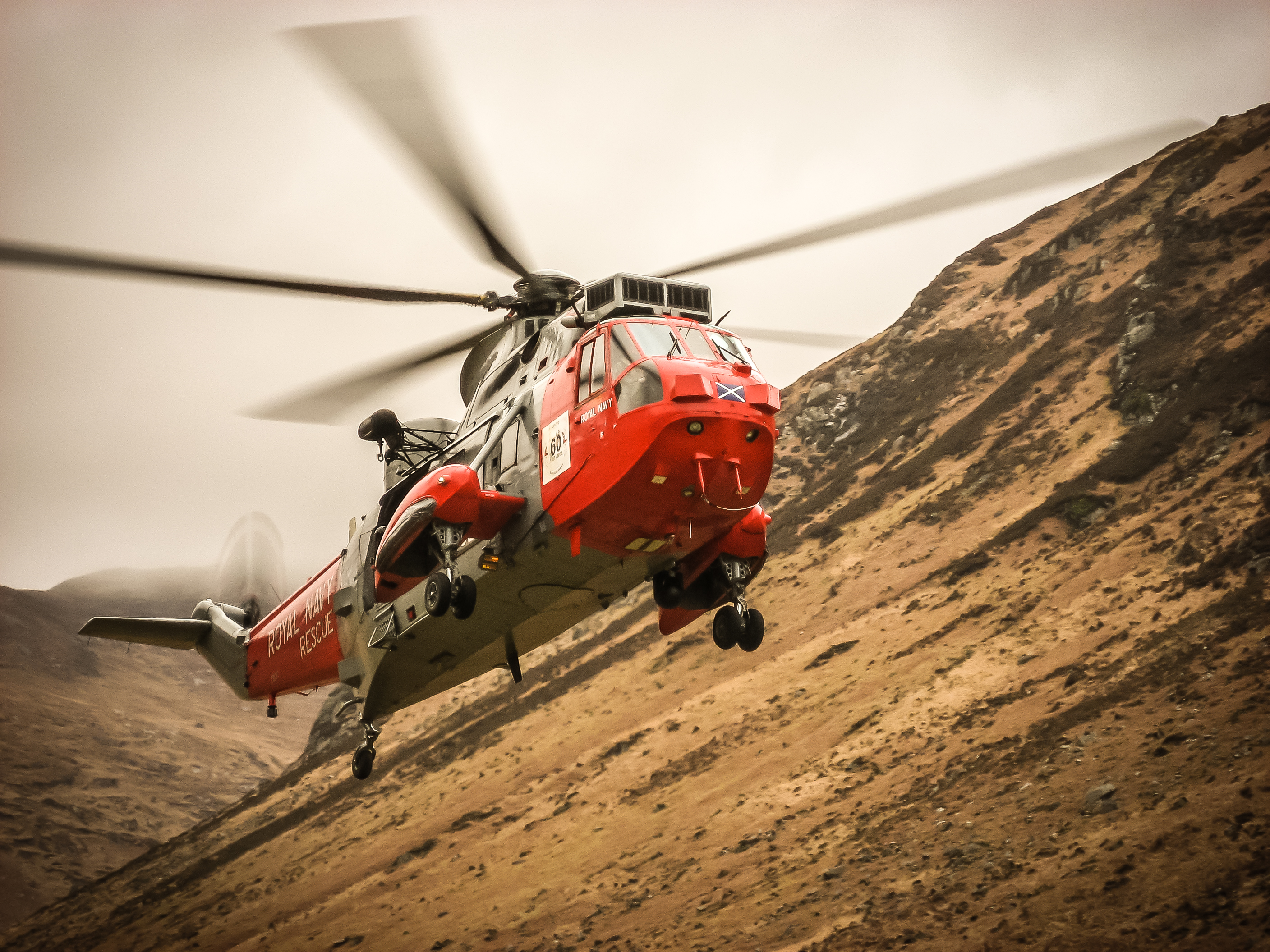 Helicopter exercise - March 2014