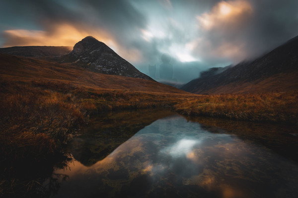 Reflections. Glen Sannox