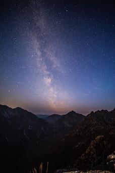 The Milky way core above cir mhor