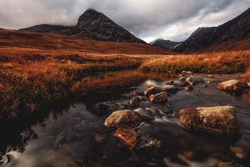Glen Sannox with an Autumn coat