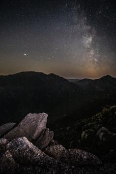 Glen Sannox by starlight