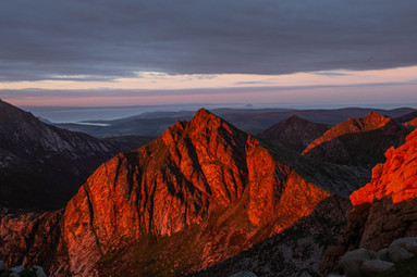 Cir Mhor, Painted Red