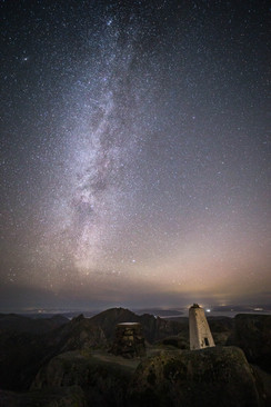 The Milky Way from Goatfell